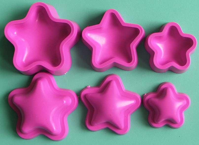 termoformado estrellas foamy fomi 3D manualidades en goma eva originales