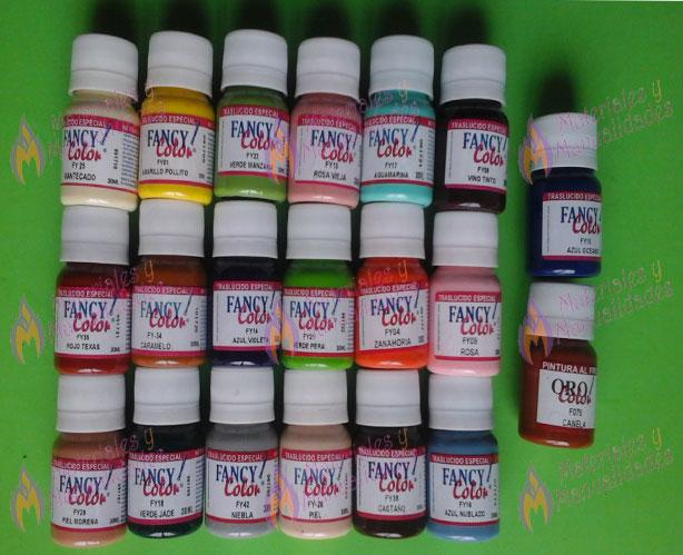 Pinturas traslucidas para foami goma eva