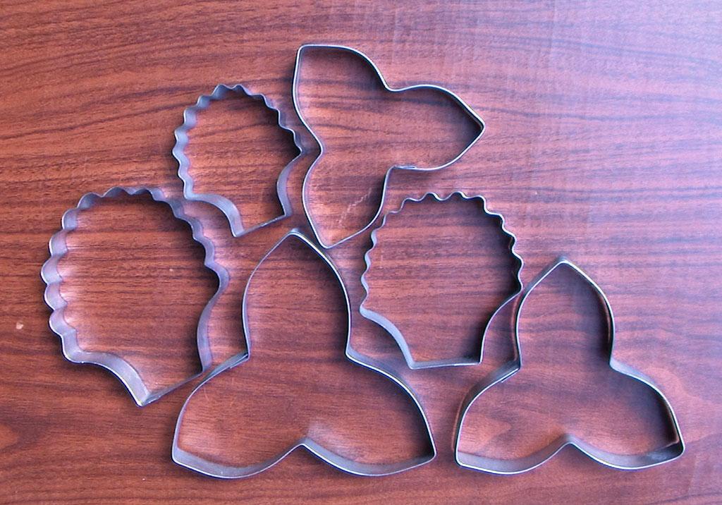 Cortador de Flor clavel o campanilla para modelar porcelana