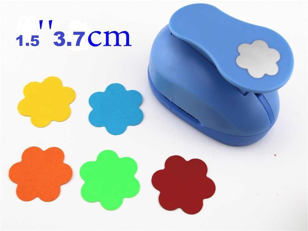 Perforadora Troquel para foami Flor Redonda 3.8 cm sacabocados 1pz