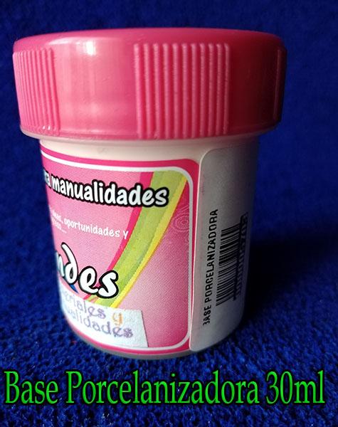 Base porcelanizadora 30ml para pasta moldeable porcelanicrón
