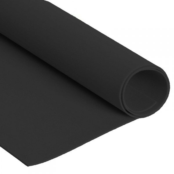 Lamina de Foamy 5mm Negro goma eva fomi foami crea manualidades foamy