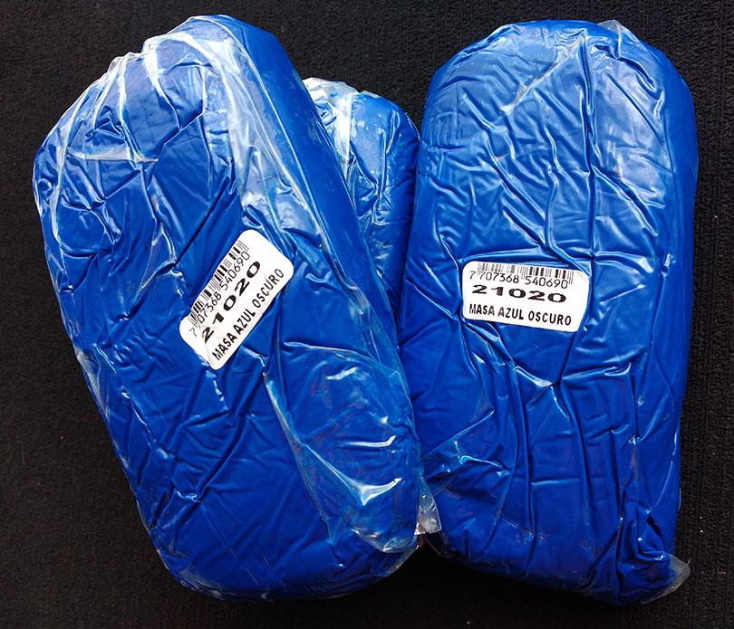 Masa porcelanicrón Moldeable Azul Oscuro Real para artesanías 50