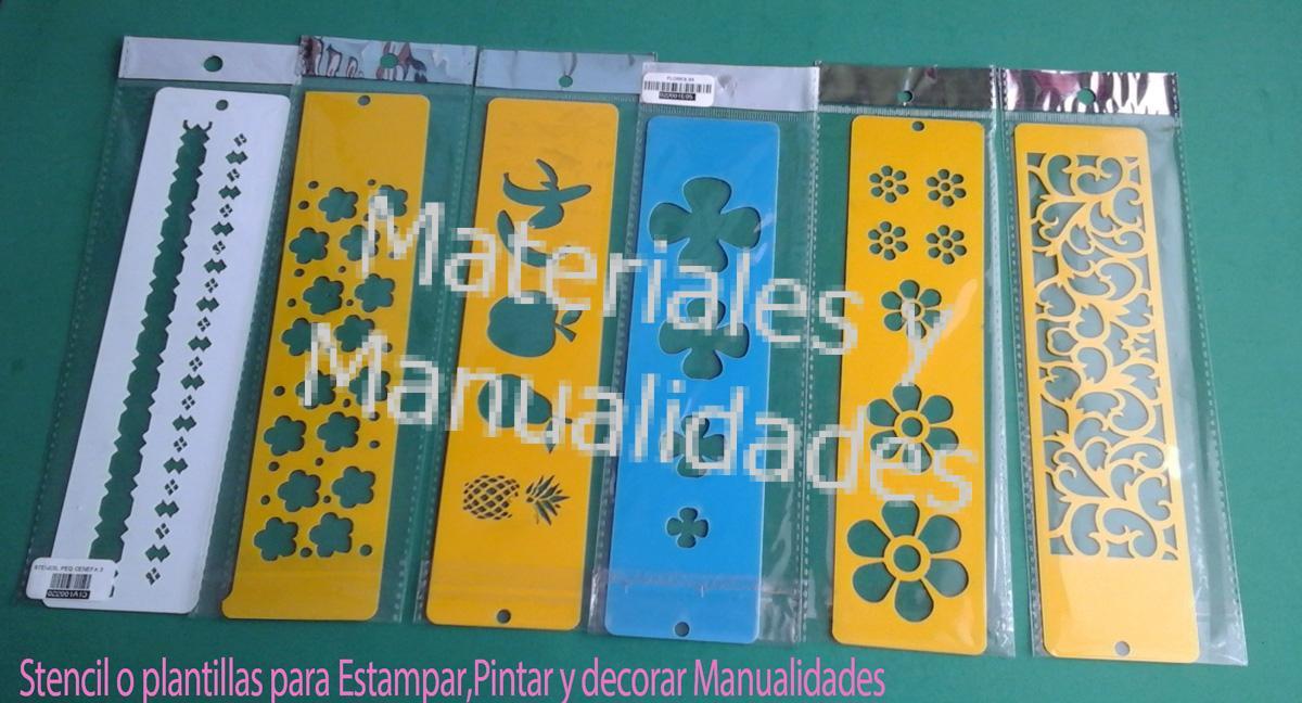 Stencil halloween flores arabescos plantillas Para decorar manualidad