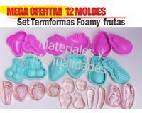 Moldes Foamy Materiales Para Manualidades En Masa Flexible Foamy
