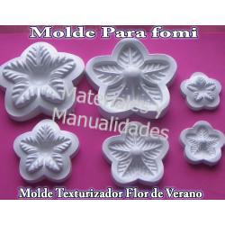 Molde Para Fomi Flor Noche Buena Floristeria Termoformado De Foamy